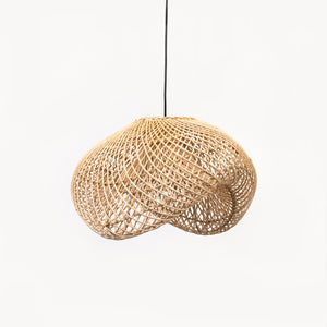 Light pendant Rattan Sculptured