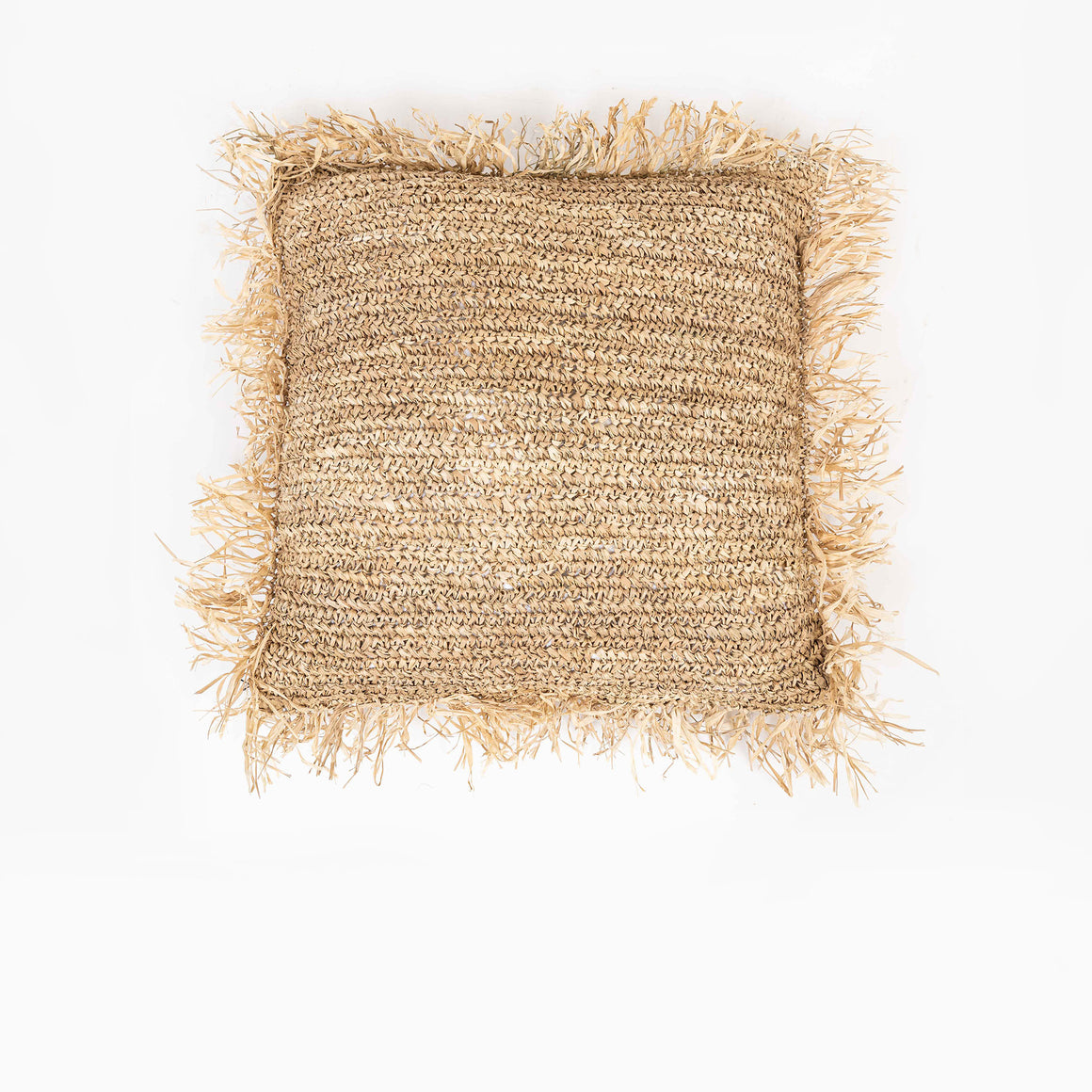 Cushion Cover Raffia 60x60