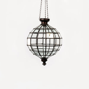 Pendant Clear Light Rnd Med