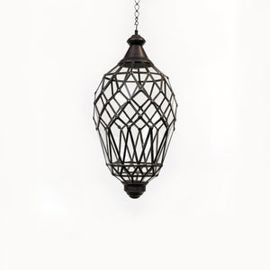 Pendant Clear LLight Oval Sml