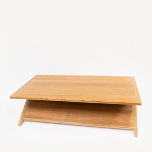 hand made solid teak coffee table