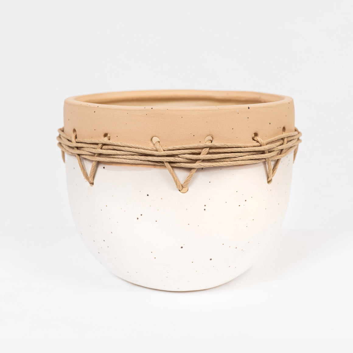 Ceramic twine pot Zula Large