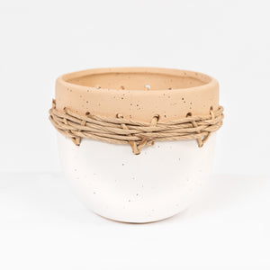 Ceramic twine pot Zula Small