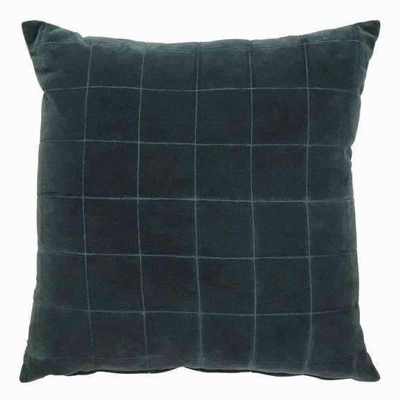Selby Teal Velvet Cushion