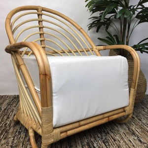 Martini Rattan deep chair with cushion