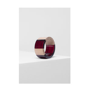 ELK Bangle Yenni Plum Natural