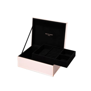 FLORENCE BLUSH LARGE JEWELLERY BOX