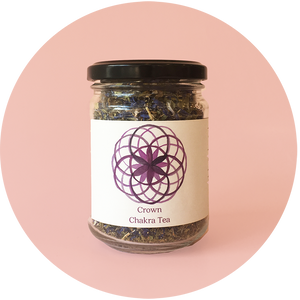 The Botanical store - Tea Crown Chakra Large