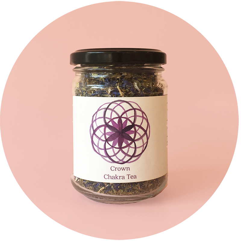 The Botanical store - Tea Crown Chakra Small