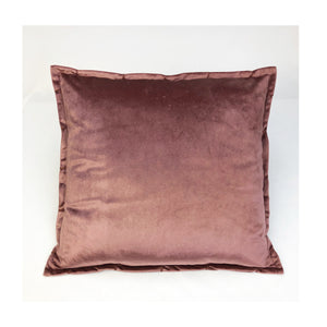 Cushion Velvlux Plum 50 x 50