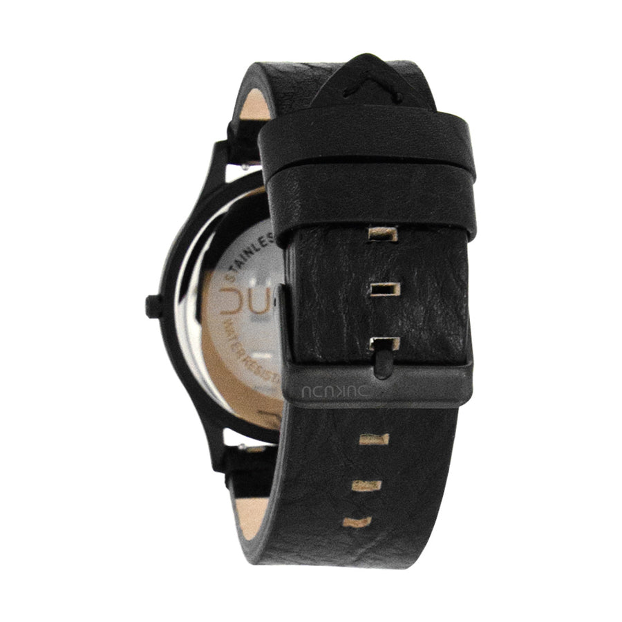 Dukudu watch. Ivar. Dark grey & black