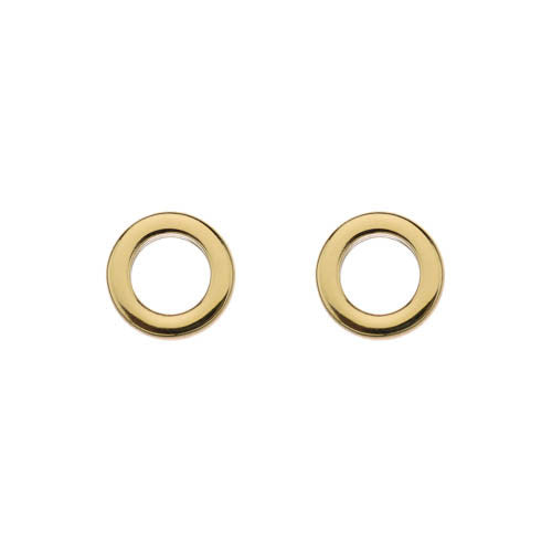 Earrings Gold Plate Stud