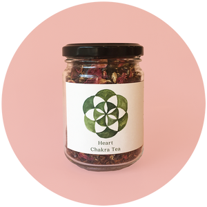 The Botanical store - Tea Heart Chakra Small