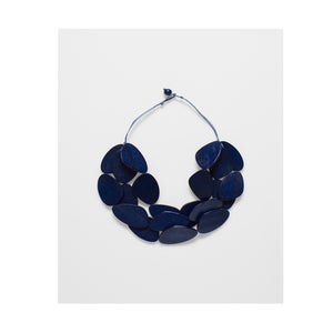 ELK Necklace Kamile Navy Matte
