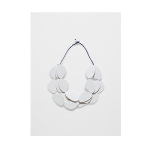 ELK Necklace Kamile White Matte