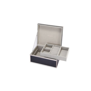 SARA BLACK LARGE JEWELLERY BOX