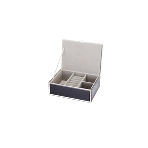 SARA BLACK MEDIUM JEWELLERY BOX