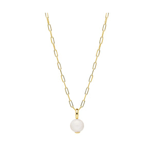 Najo - Freshwater Pearl Gold necklace