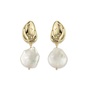 Bianc - Atlantic Earring Gold Plate