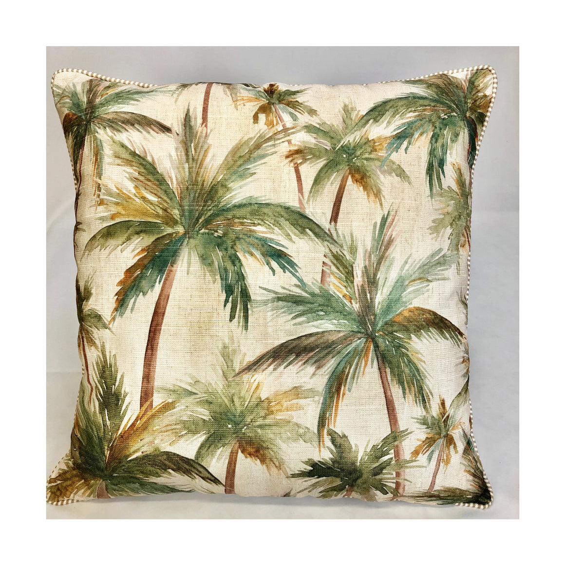 Cushion Palms Neutral 55cm