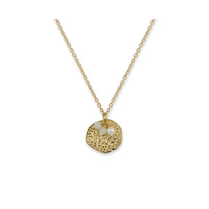 Bianc - Rain Necklace Gold Plate