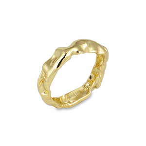 Bianc - Rockpool Ring Gold Plated