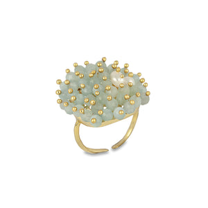 Bianc - River Ring Gold Plated