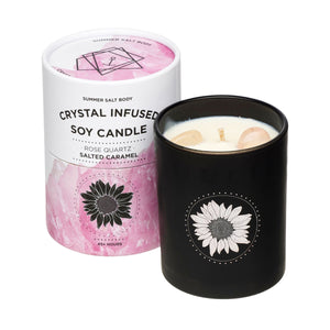 Crystal Rose Candle