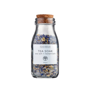 Tea Soak Sea Salt & Botanicals