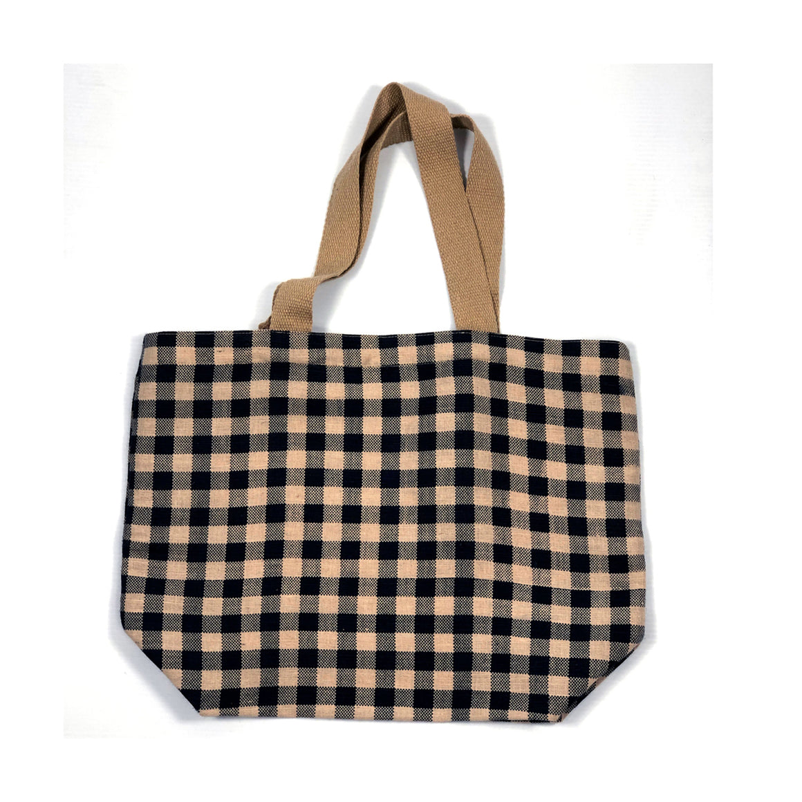 Tote Bag Gingham Navy