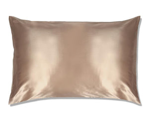 Slip Pillow Case Caramel Queen