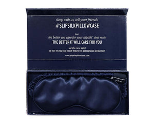 Sleep Mask Slip Silk Navy