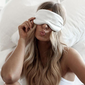 Sleep Mask Slip Silk White