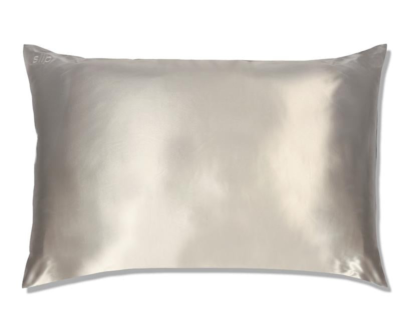 Slip Pillow Case Silver Queen