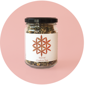 The Botanical store - Tea Sacral Chakra Small