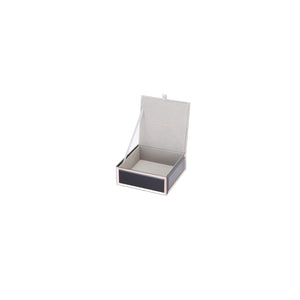SARA BLACK SMALL JEWELLERY BOX
