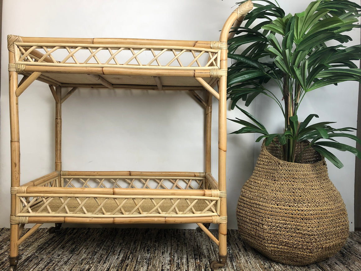 Trolley Tropical Rattan