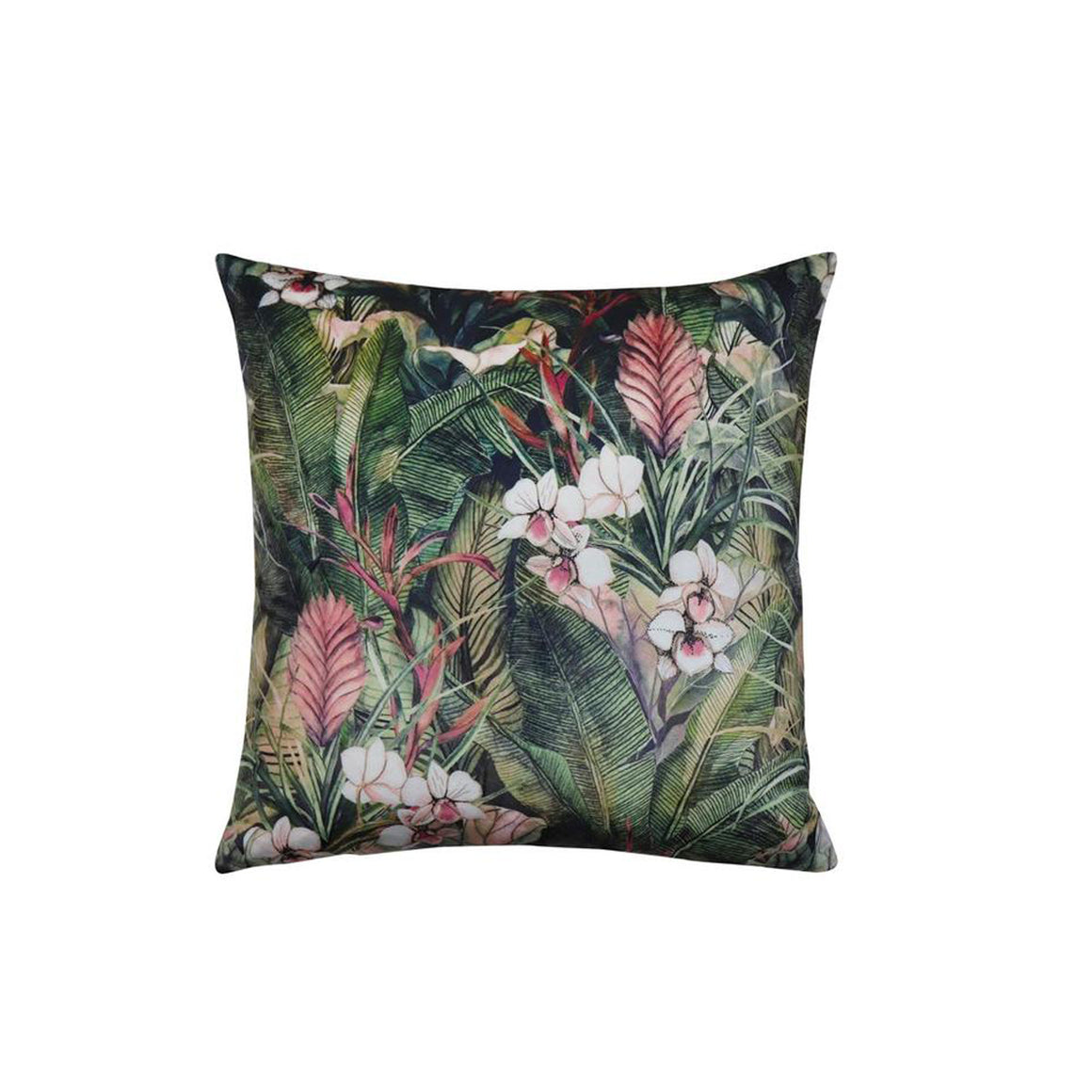Velvet cushion Tropicana 50cm