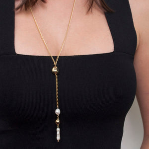 Zahar - Piper Necklace Gold Plate