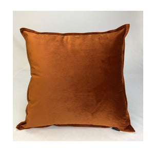 Cushion Velvet Orange 50cm