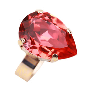 Mariana red stone ring
