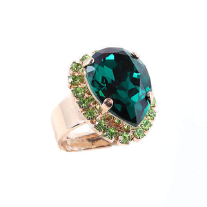 Mariana Green stone ring