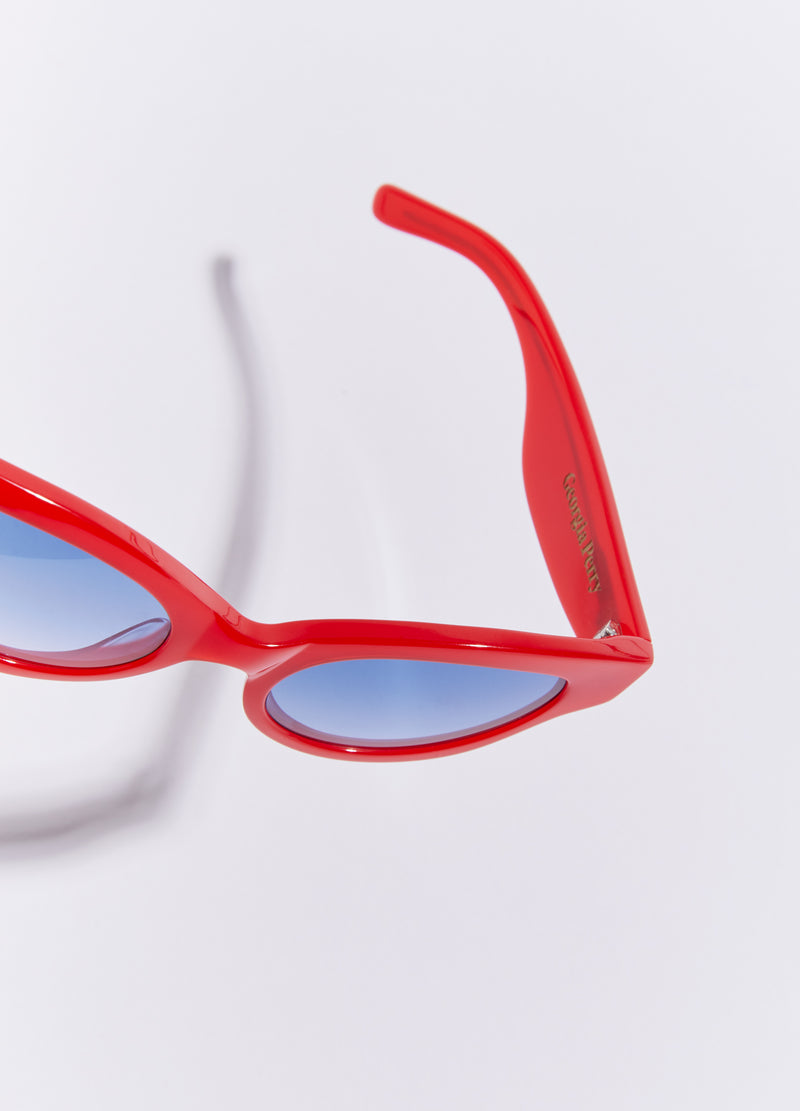Betty Sunglasses – Lipstick Red | Georgia Perry