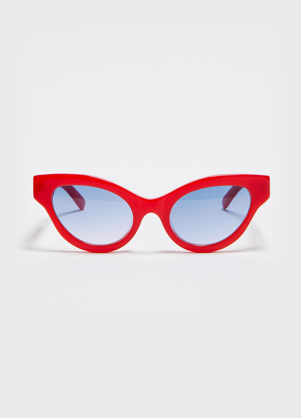 Betty Sunglasses – Lipstick Red