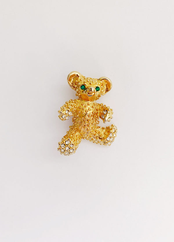 Teddy Brooch (Vintage)