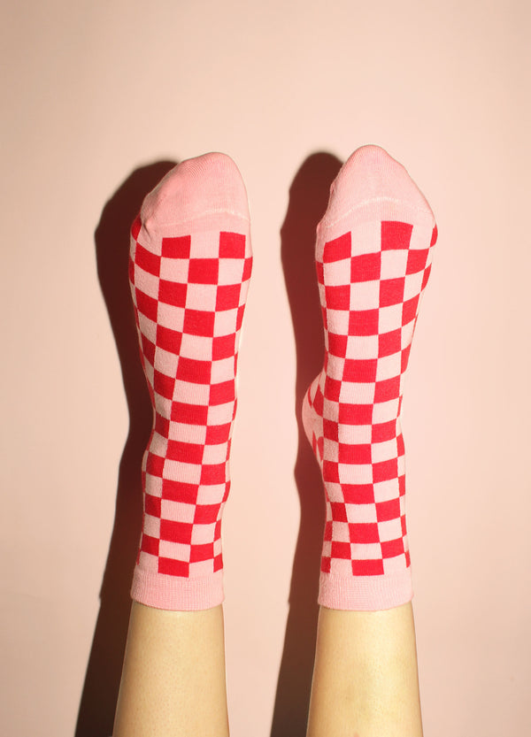 Checkerboard Socks | Georgia Perry
