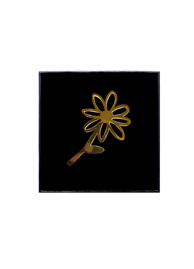 Gold Daisy Pin