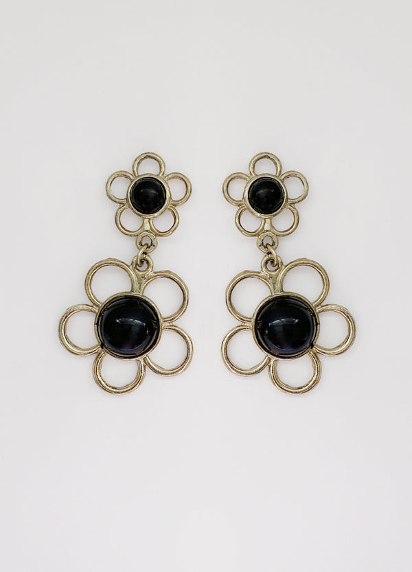 1960s Flower Earrings (Vintage)