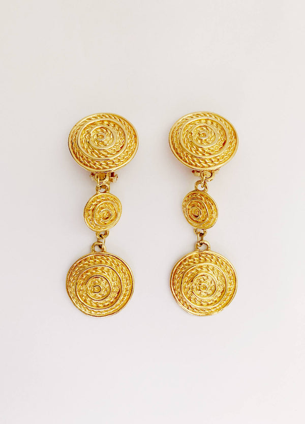 Rope Drop Earrings (Vintage)
