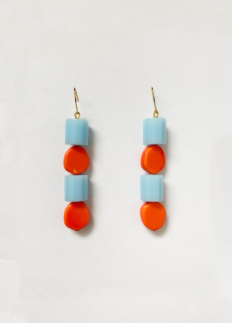Tangelo Earrings